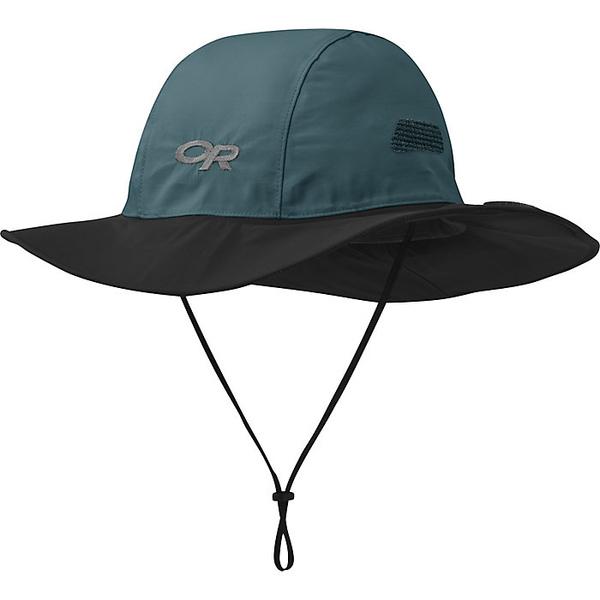 アウトドアリサーチ メンズ 帽子 アクセサリー Outdoor Research Seattle Sombrero Mediterranean / Black