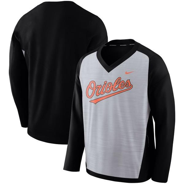 ナイキ メンズ ジャケット&ブルゾン アウター Baltimore Orioles Nike Performance Pullover Windshirt Gray