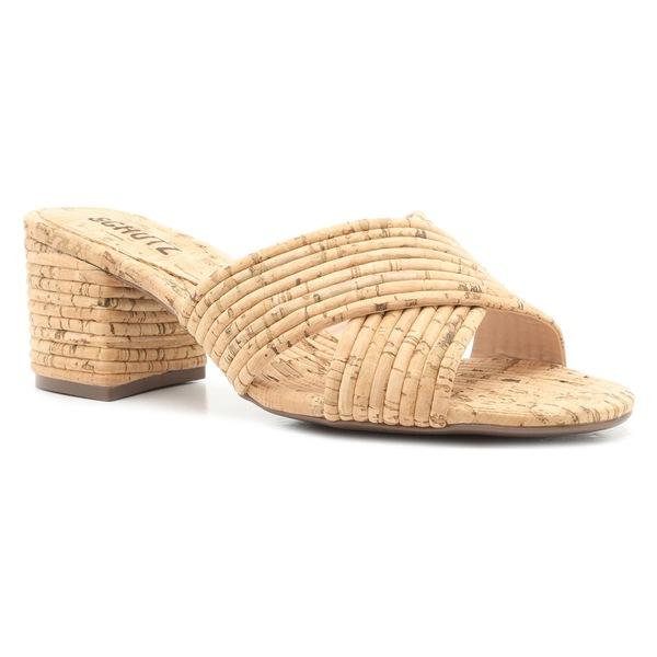 シュッツ レディース サンダル シューズ Schutz Ana Slide Sandal (Women) Natural Cork