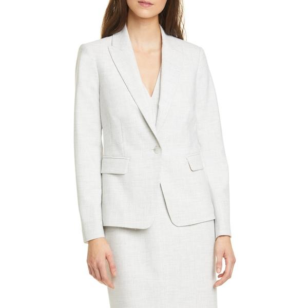 テーラード・バイ・レベッカ・テイラー レディース ジャケット&ブルゾン アウター Clean Suiting Jacket Light Heather Grey