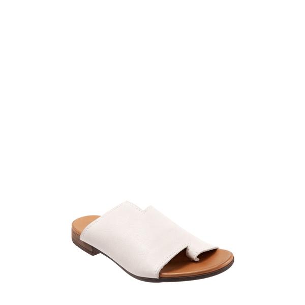 ブエノ レディース サンダル シューズ Tulla Slide Sandal White Leather