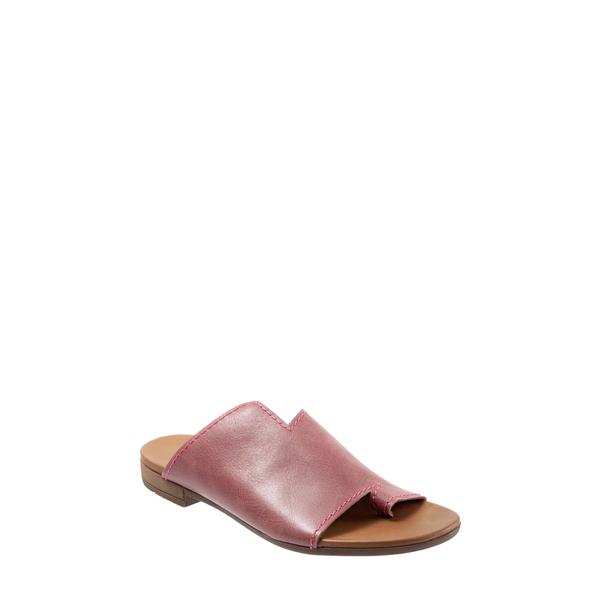 ブエノ レディース サンダル シューズ Tulla Slide Sandal Bordeaux Leather