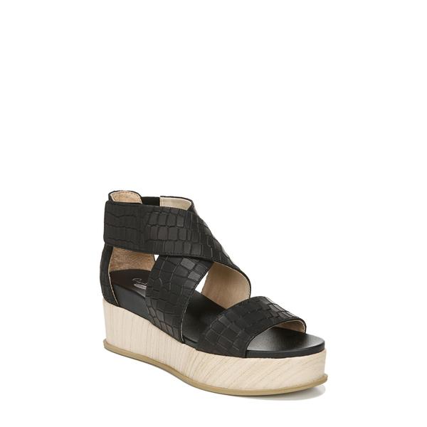 ドクター・ショール レディース サンダル シューズ Buena Platform Sandal Black Leather