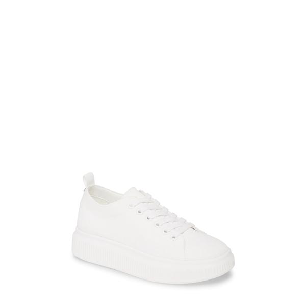 ビーピー レディース スニーカー シューズ Sonny Sneaker White Fabric