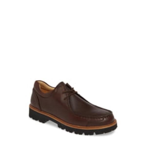 サミュエルフドバード メンズ ドレスシューズ シューズ Great North Moc Toe Derby Saddlebag Brown Leather