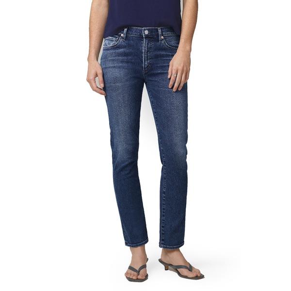 シチズンズ オブ ヒューマニティ レディース デニムパンツ ボトムス Skyla High Waist Ankle Cigarette Jeans Charisma