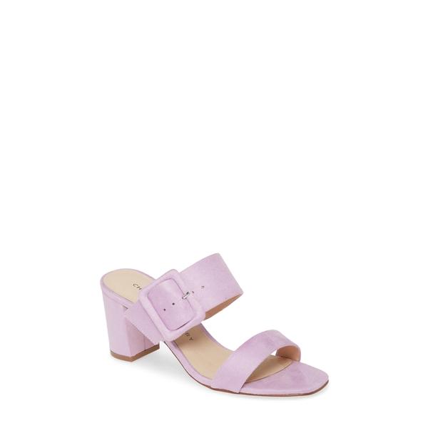 チャイニーズランドリー レディース サンダル シューズ Yippy Block Heel Sandal Lovely Lilac Suede