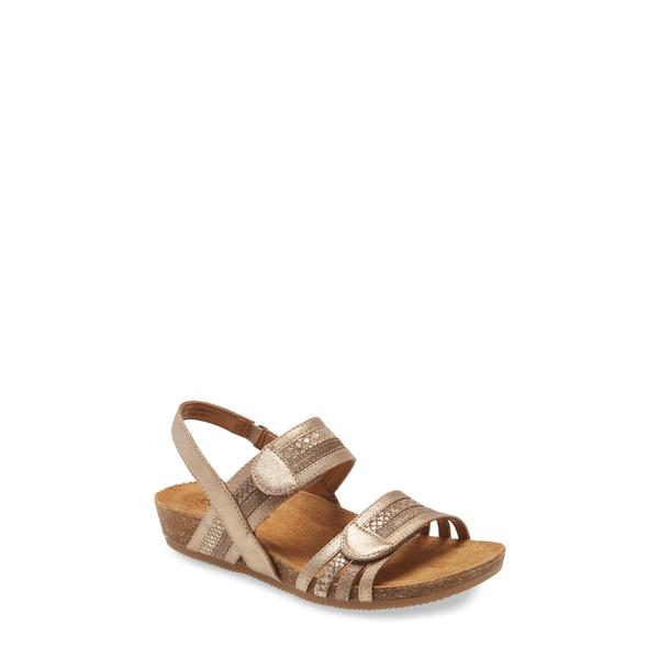 コンフォーティバ レディース サンダル シューズ Gabrielle Sandal Gold Multi Leather