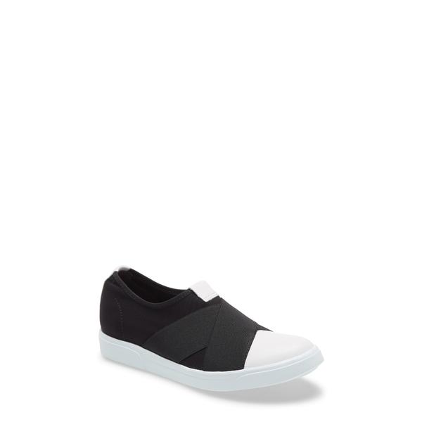 ムンロー レディース スニーカー シューズ Anjela Slip-On Sneaker Black Fabric