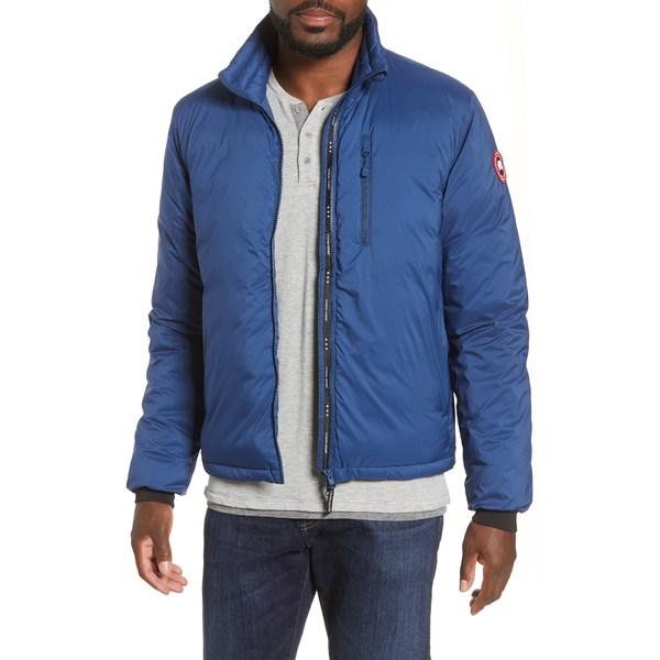 カナダグース メンズ ジャケット&ブルゾン アウター Lodge Packable 750 Fill Power Down Jacket Northern Night