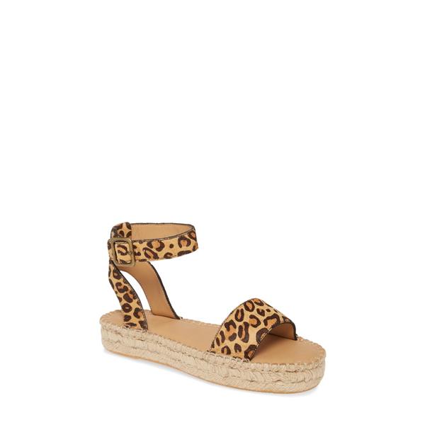 ソルドス レディース サンダル シューズ Cadiz Espadrille Sandal Leopard Print
