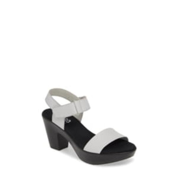 ムンロー レディース サンダル シューズ Willa Sandal Off White Leather