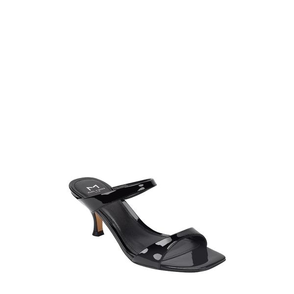 マーク・フィッシャー レディース サンダル シューズ Genia Slide Sandal Black Patent Leather