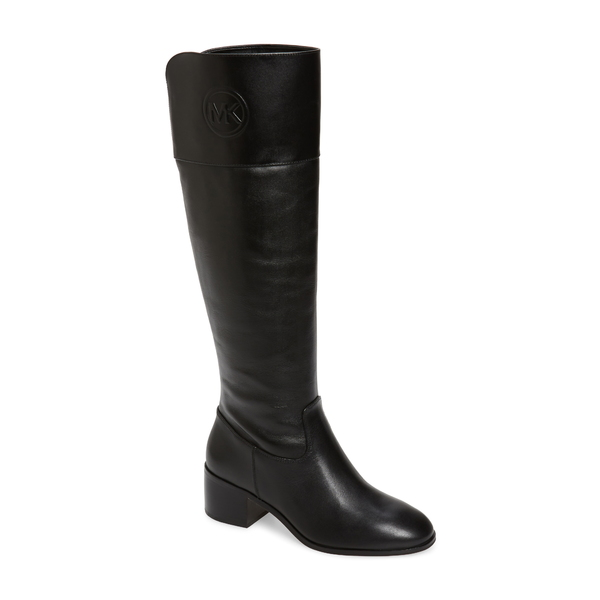 マイケルコース レディース ブーツ&レインブーツ シューズ Dylyn Boot Black Vachetta Leather
