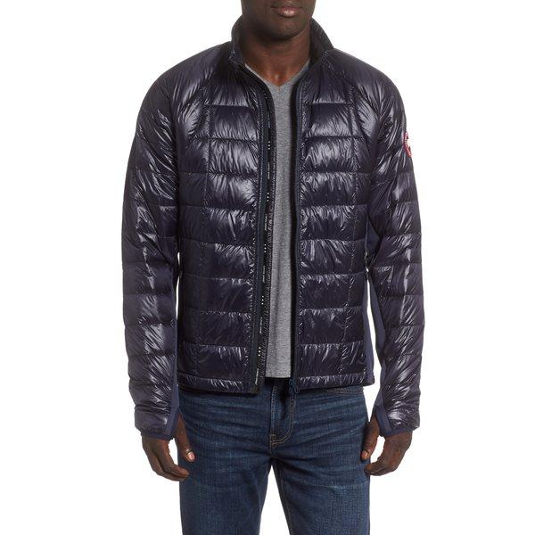 カナダグース メンズ ジャケット&ブルゾン アウター 'Hybridge Lite' Slim Fit Packable Jacket Navy