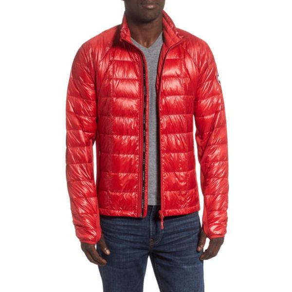 カナダグース メンズ ジャケット&ブルゾン アウター 'Hybridge Lite' Slim Fit Packable Jacket Red