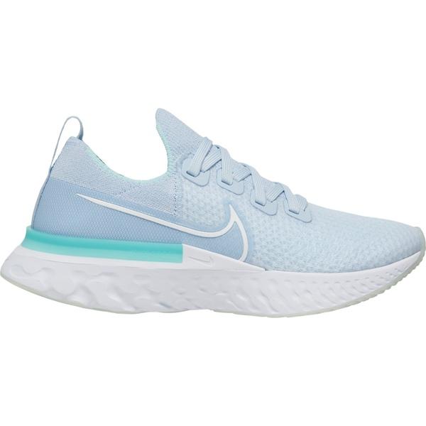 <title>Nike レディース スポーツ 再再販 ランニング Teal Blue 全商品無料サイズ交換 ナイキ Women's React Infinity Run Flyknit Running Shoes</title>