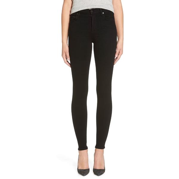 シチズンズ オブ ヒューマニティ レディース カジュアルパンツ ボトムス Citizens of Humanity Rocket High Waist Skinny Jeans (Black) Black