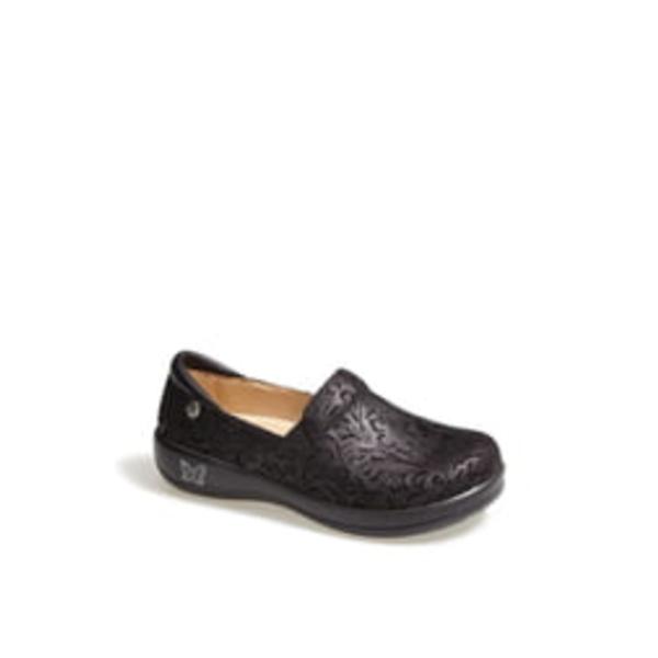 アレグリア レディース サンダル シューズ 'Keli' Embossed Clog Black Paisley Leather