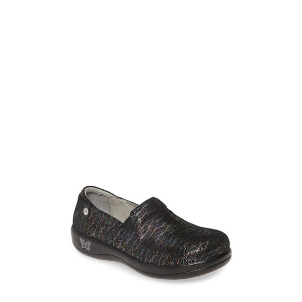 アレグリア レディース サンダル シューズ 'Keli' Embossed Clog Dermatic Leather