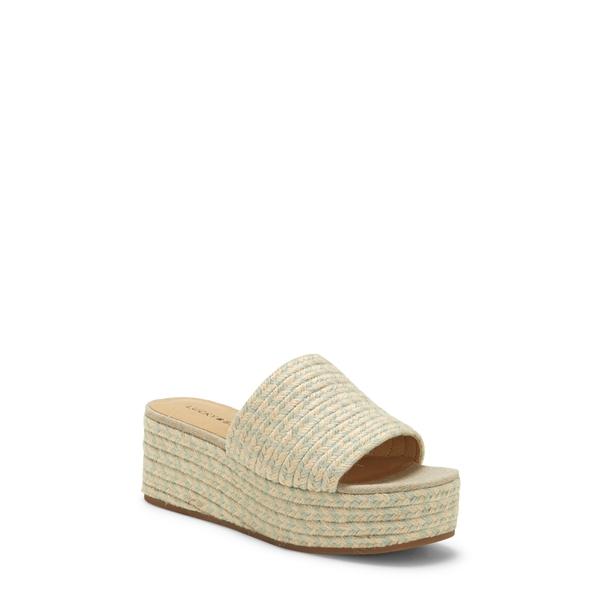 ラッキーブランド レディース サンダル シューズ Befanni Platform Slide Sandal Desert Sage Fabric