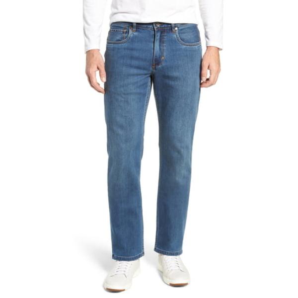 トッミーバハマ メンズ デニムパンツ ボトムス Antigua Cove Authentic Straight Leg Jeans Med Indigo Wash