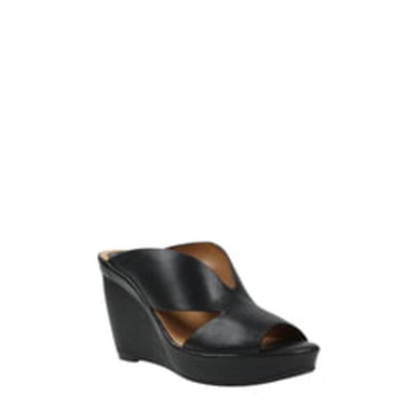 ラモールドピード レディース サンダル シューズ Ivybell Slide Sandal Black Leather