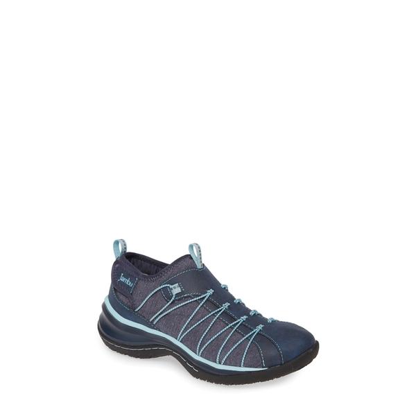 ジャンブー レディース スニーカー シューズ Spirit Encore Sneaker Navy/ Iceberg Faux Leather