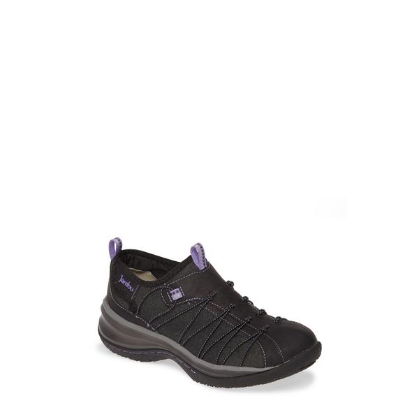 ジャンブー レディース スニーカー シューズ Spirit Encore Sneaker Black/ Violet Faux Leather
