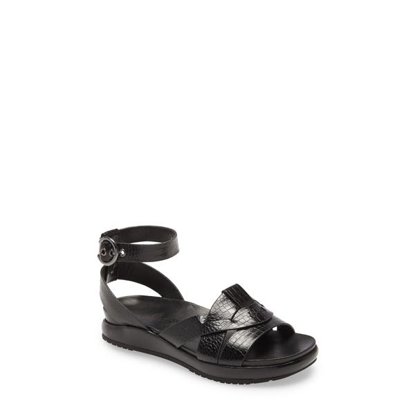 ネイキッドフィート レディース サンダル シューズ Limon Ankle Strap Sandal Black Leather