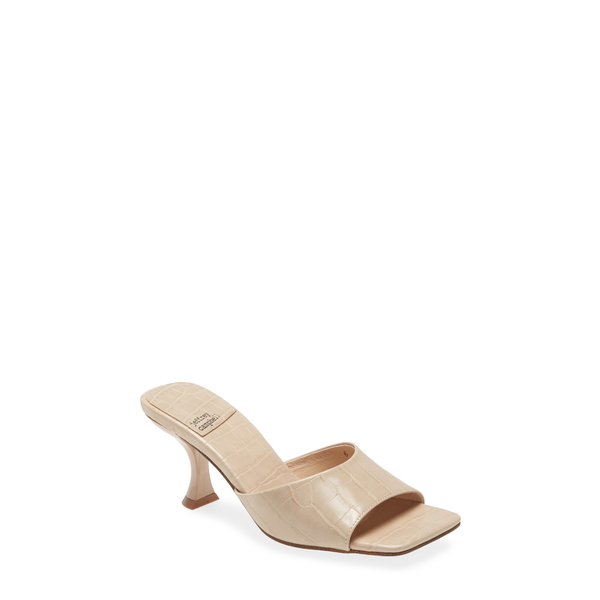 ジェフリー キャンベル レディース サンダル シューズ Mr-Big Slide Sandal Nude Croco Patent