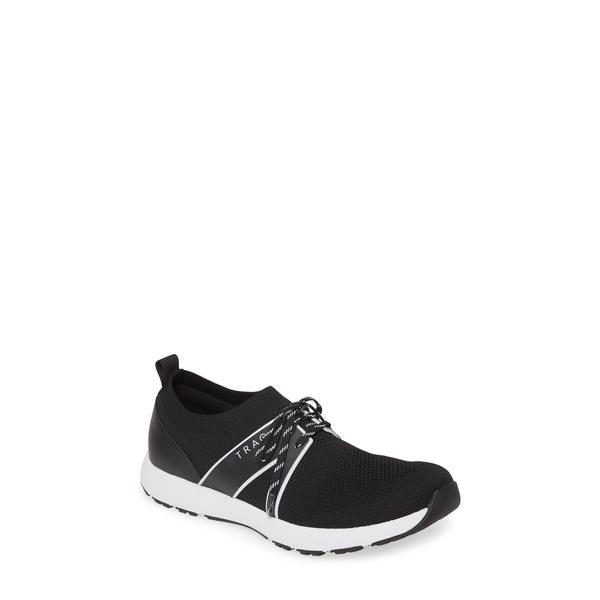 トラックバイアレグリア レディース スニーカー シューズ Alegria Qool Water Resistant Knit Sneaker Black