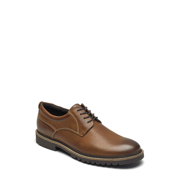 ロックポート メンズ ドレスシューズ シューズ Marshall Plain Toe Derby Fawn Brown Leather