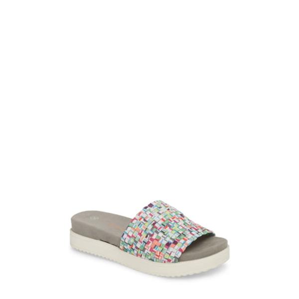 バーニーメブ レディース サンダル シューズ Capri Slide Sandal Gumballs Fabric