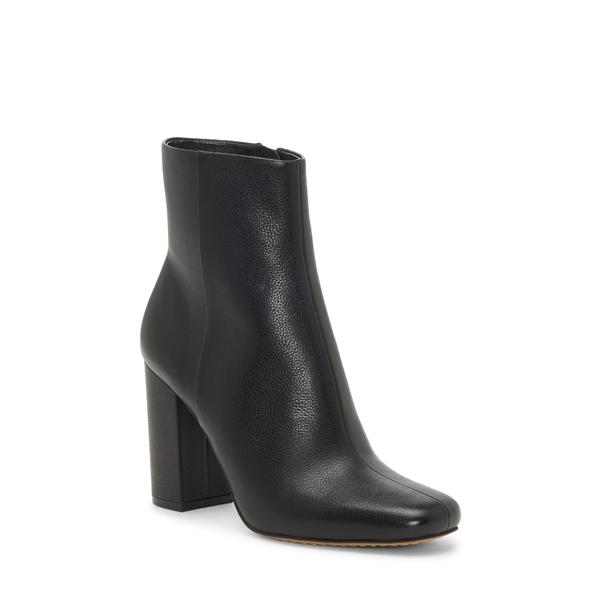 ヴィンスカムート レディース ブーツ&レインブーツ シューズ Dannia Bootie Black Leather