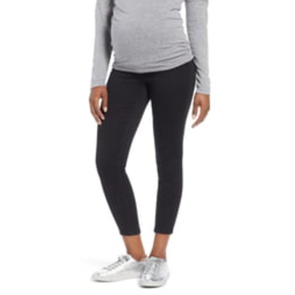 1822デニム レディース デニムパンツ ボトムス Butter Ankle Super Skinny Maternity Jeans Black