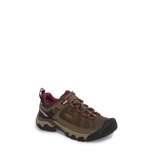 キーン レディース サンダル シューズ Targhee III Waterproof Hiking Shoe Weiss/ Boysenberry Leather