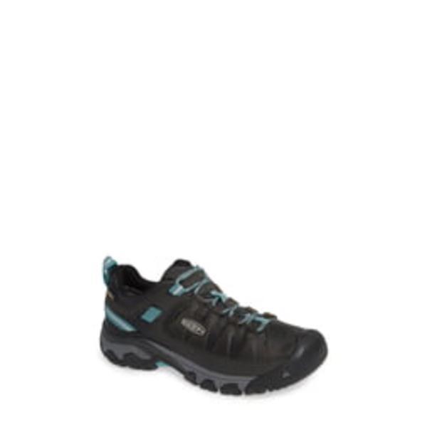 キーン レディース サンダル シューズ Targhee III Waterproof Hiking Shoe Alcatraz/ Turquoise Leather