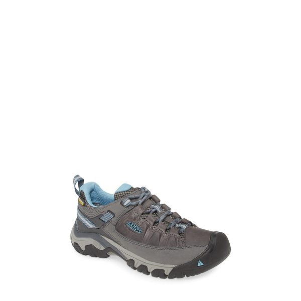 キーン レディース サンダル シューズ Targhee III Waterproof Hiking Shoe Magnet/ Atlantic Blue Leather