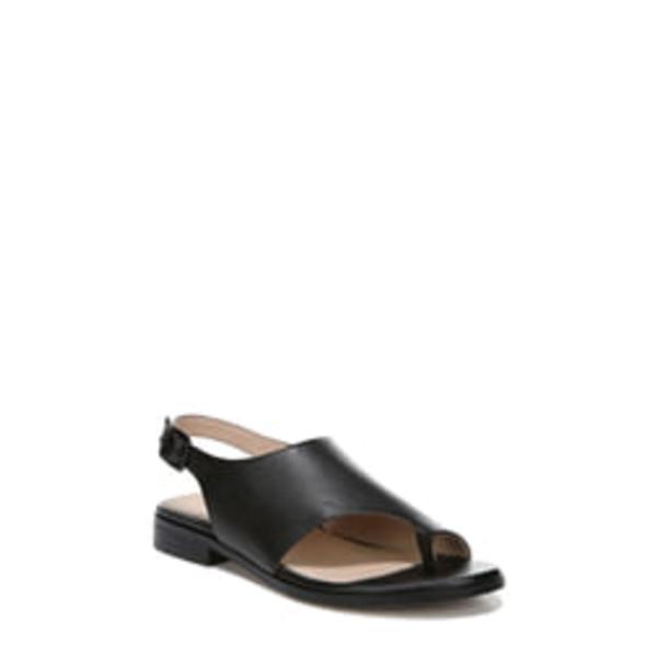 27エディット レディース サンダル シューズ Emma Toe Loop Sandal Black Leather
