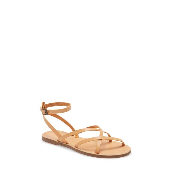 メイドウェル レディース サンダル シューズ The Boardwalk Skinny Strap Sandal Ashen Sand