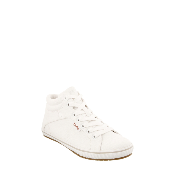 タウス レディース スニーカー シューズ Top Star Sneaker White Canvas