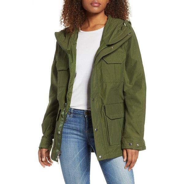 ノースフェイス レディース ジャケット&ブルゾン アウター Mountain Water Repellent Hooded Jacket English Green