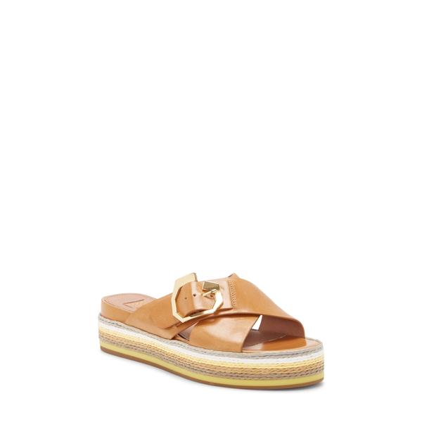 ルイスエシー レディース サンダル シューズ Cassia Platform Sandal True Tan Leather
