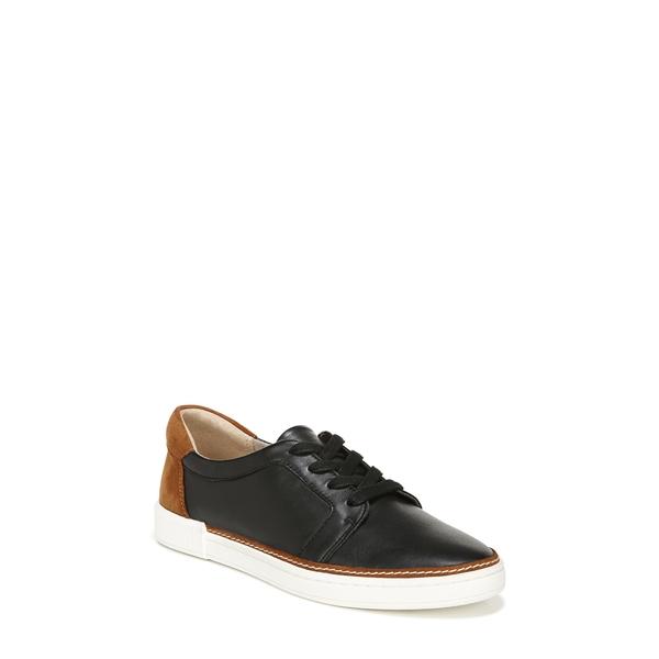 ナチュライザー レディース スニーカー シューズ Jane Sneaker Black/ Tan Leather
