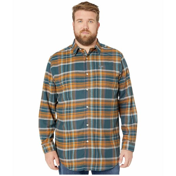 コロンビア メンズ コート アウター Big & Tall Boulder Ridge Long Sleeve Flannel Night Shadow Multi Tartan