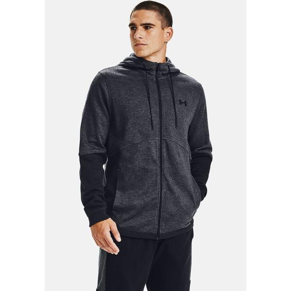 超可爱の アンダーアーマー メンズ パーカー・スウェットシャツ パーカー・スウェットシャツ アウター - DOUBLE gray KNIT - Zip-up hoodie - pitch gray mres00db, free stitch:5a5e9f38 --- mag2.ensuregroup.ca
