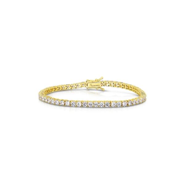 スフラミラノ レディース アクセサリー ブレスレット バングル アンクレット YELLOW メイルオーダー Gold Bracelet Vermeil GOLD 特価 全商品無料サイズ交換 Tennis
