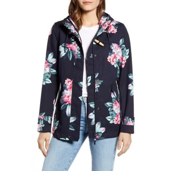 ジュールズ レディース ジャケット&ブルゾン アウター Coast Floral Print Waterproof Jacket FLORAL NAVY