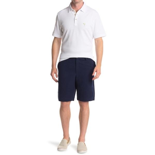 Linen Front Shorts Monterey Blend Silk カジュアルパンツ OCEAN メンズ Flat ボトムス DEEP & トッミーバハマ